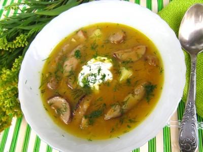 грибной суп рецепт со свежими грибами рецепт с фото